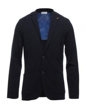Пиджак HERITAGE. Цвет: темно-синий