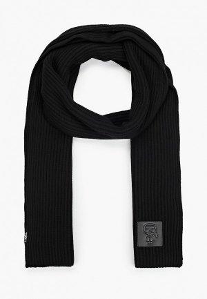 Шарф Karl Lagerfeld. Цвет: черный