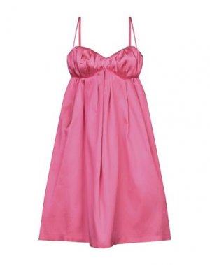 Короткое платье DICE KAYEK. Цвет: фуксия