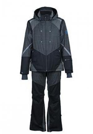 Горнолыжный костюм STEFANO RICCI. Цвет: серый