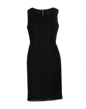 Платье до колена CLIPS. Цвет: черный