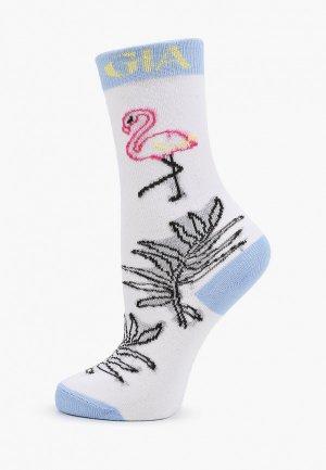 Носки Mia Gia. Цвет: белый