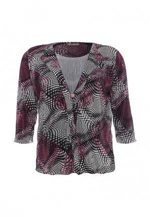 Блуза Bassini BA069EWRTJ78. Цвет: мультиколор