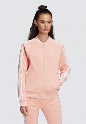 Олимпийка adidas Originals SST TT. Цвет: розовый