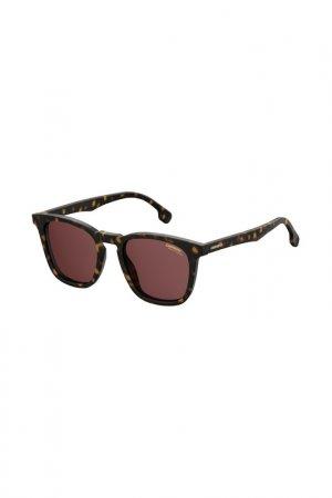 Очки cолнцезащитные Carrera. Цвет: коричневый
