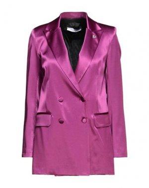 Пиджак EMMA & GAIA. Цвет: розовато-лиловый