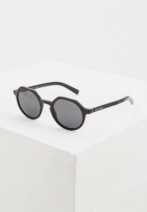 Очки солнцезащитные Dolce&Gabbana DG4353 501/87. Цвет: черный