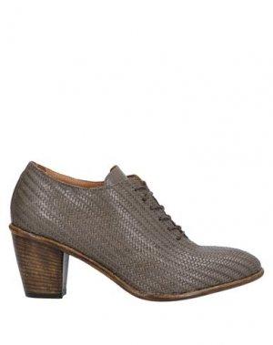 Обувь на шнурках ERNESTO DOLANI. Цвет: хаки