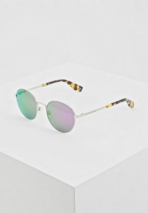 Очки солнцезащитные Marc Jacobs 272/S B3V. Цвет: серебряный