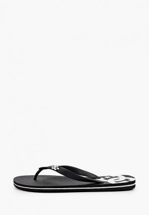 Сланцы DC Shoes SPRAY M SNDL BLW. Цвет: черный