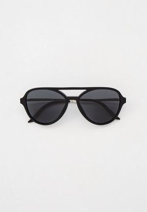 Очки солнцезащитные Prada PR 13WS 1AB5S0. Цвет: черный