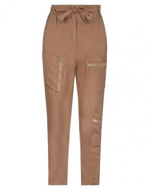Повседневные брюки EMMA & GAIA. Цвет: коричневый