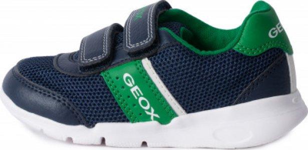 Кроссовки для мальчиков Runner, размер 25 Geox. Цвет: синий