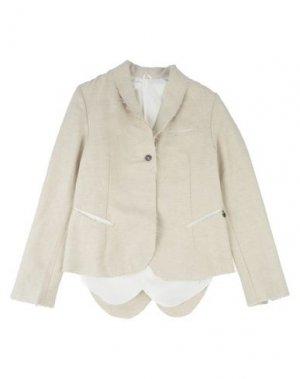 Пиджак NOSTRASANTISSIMA. Цвет: песочный
