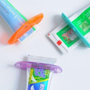 Соковыжималка для зубных паст случайного 1шт SHEIN. Цвет: многоцветный