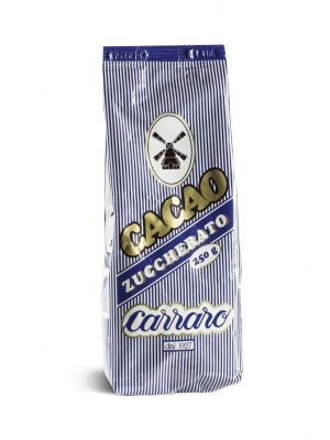 Растворимое какао Carraro Cacao Zuccherato 250г. Цвет: коричневый