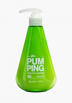 Зубная паста Perioe освежающая Breath Care Pumping Toothpaste, 285 г. Цвет: прозрачный