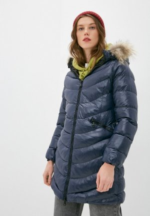 Куртка утепленная Macleria. Цвет: синий