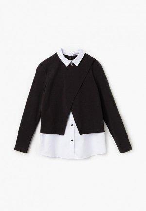 Блуза Bell Bimbo. Цвет: черный