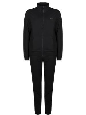 Хлопковый спортивный костюм MICHAEL KORS. Цвет: черный