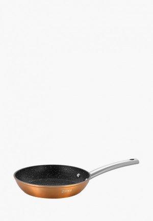 Сковорода Guffman Lunar Copper, 22 см. Цвет: коричневый