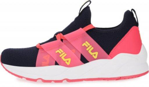 Кроссовки для девочек Fila Zin, размер 34. Цвет: синий