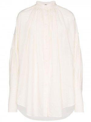 Полосатая рубашка со сборками Ann Demeulemeester