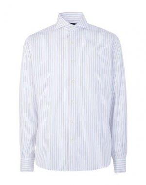 Pубашка ANGELO NARDELLI. Цвет: белый