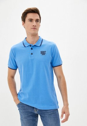 Поло Blue Seven. Цвет: голубой