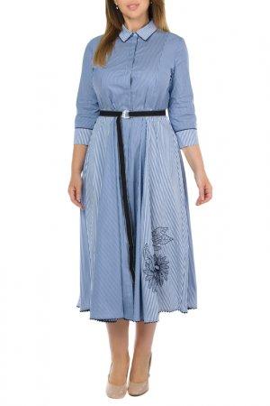 Платье Beatrice. B. Цвет: синий, белый