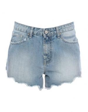 Джинсовые шорты JIJIL. Цвет: синий