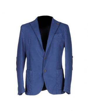 Пиджак ALV ANDARE LONTANO VIAGGIANDO. Цвет: синий