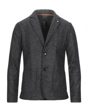 Пиджак DISTRETTO 12. Цвет: стальной серый