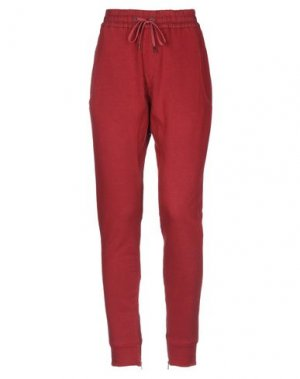 Повседневные брюки PAOLO PECORA. Цвет: кирпично-красный