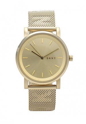 Часы DKNY NY2621. Цвет: золотой