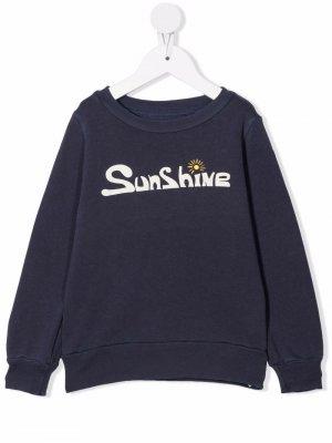 Sunshine sweatshirt The Animals Observatory. Цвет: синий