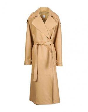 Пальто 8 by YOOX. Цвет: бежевый