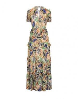 Длинное платье GLAMOROUS. Цвет: бежевый