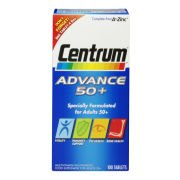 Поливитамины Advance 50 Plus Multivitamin Tablets - (100 таблеток) Centrum