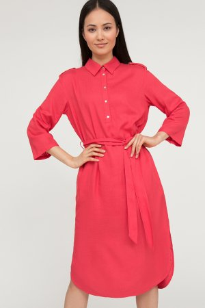 Платье женское Finn-Flare. Цвет: розовый