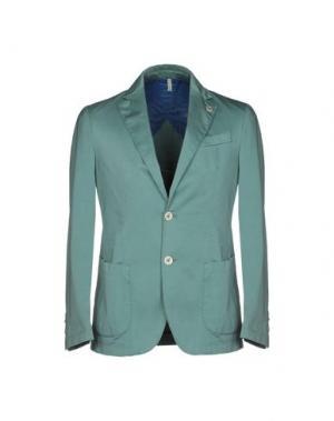 Пиджак DOMENICO TAGLIENTE. Цвет: бирюзовый