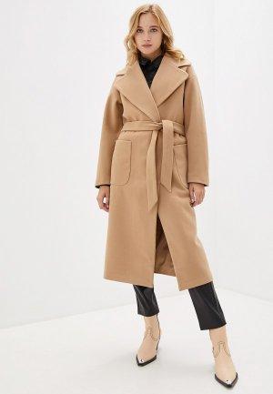 Пальто Tom Farr. Цвет: бежевый