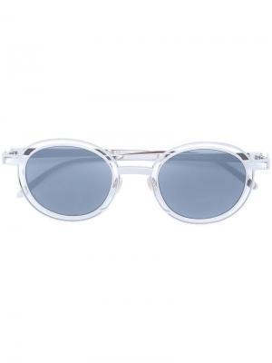 Солнцезащитные очки в оправе круглой формы Thierry Lasry