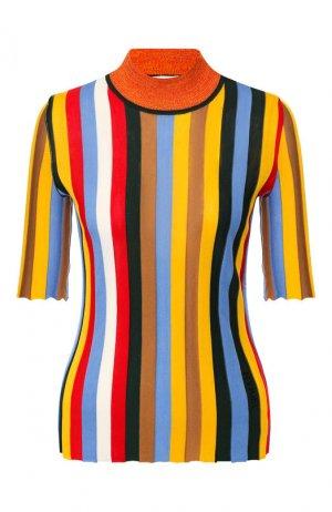 Пуловер из смеси шелка и хлопка Sonia Rykiel. Цвет: разноцветный
