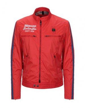 Куртка BLAUER. Цвет: красный
