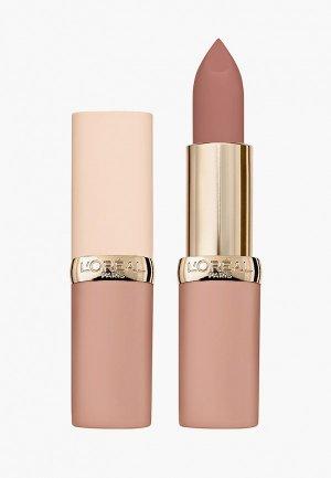 Помада LOreal Paris L'Oreal Color Riche, ультраматовая,  7 мл. Цвет: розовый
