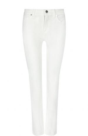 Укороченные джинсы Loro Piana. Цвет: белый