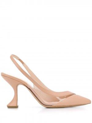 Туфли-лодочки Alyssa 85 Nicholas Kirkwood. Цвет: нейтральные цвета