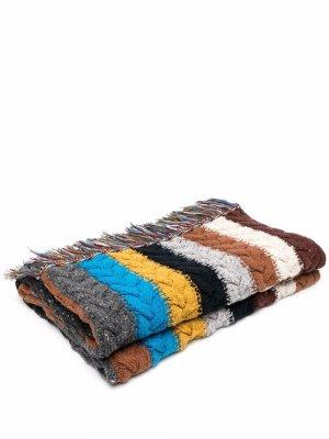 Одеяло Tierra Del Fuego Alanui. Цвет: коричневый