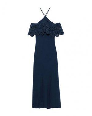 Длинное платье BAILEY 44. Цвет: ярко-синий